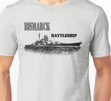 Battleship Bismarck Unisex T-Shirt