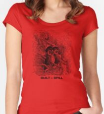 Built to Spill (Pixies and Owl City) Women's Fitted Scoop T-Shirt