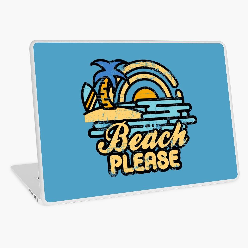 Beach Please Laptop Skin