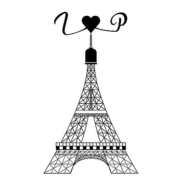 I LOVE PARIS EIFFEL TOWER Design  by saadkh