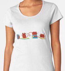 Red Mice Women's Premium T-Shirt