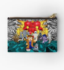 8bit 10th doctor pursued by all enemies Studio Pouch