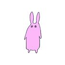 pink bunny by voomoo