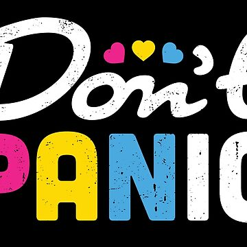 Pansexual Pride Flag Don't Panic! by mindeverykind