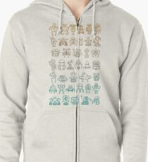 Robutts Zipped Hoodie