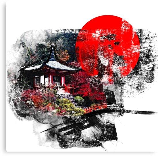 Kyoto Abstract by vivalarevolucio