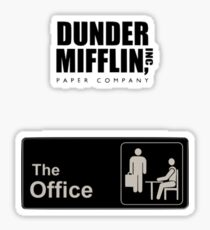 Dunder miflin the office value pack Sticker