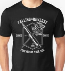 FALLING IN REVERSE LOVE HATE 1999 FOREVER BY YOUR SIDE  T-SHIRT Unisex T-Shirt