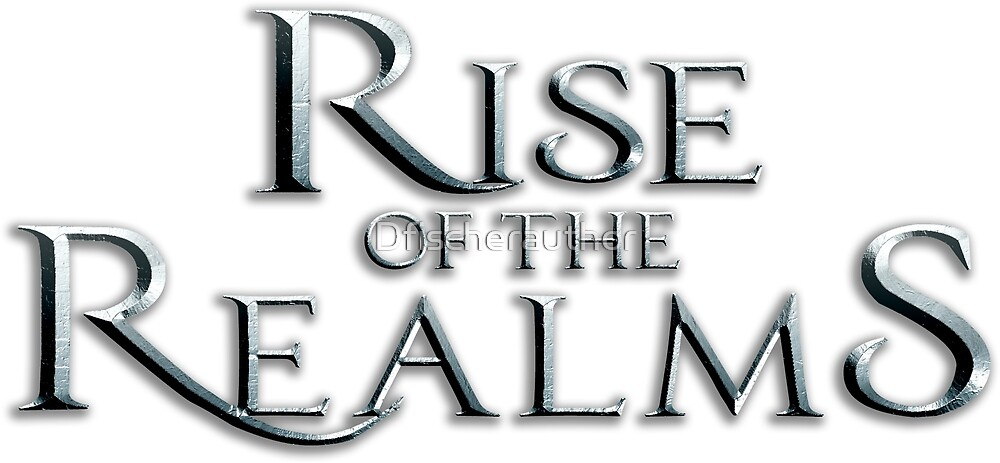 Rise of the Realms Logo Products by Dfischerauthor