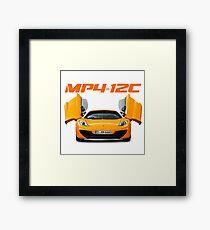 MP4 12C Framed Print