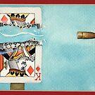 bullet through card by gregvanderLeun