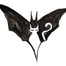 Batcat logo by Kathleen Bergen