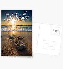 Just Breathe Postcards