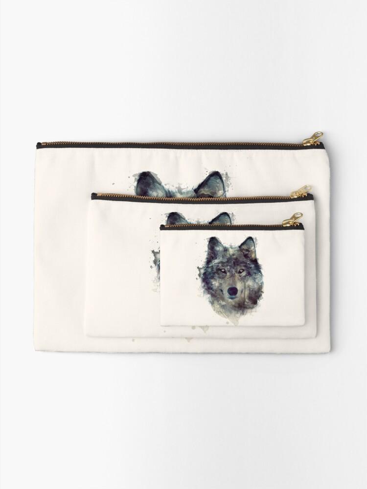 Alternative Ansicht von Wolf // Durchhalte dich Täschchen
