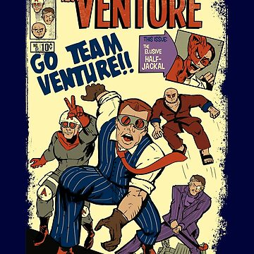 Venture Comics: Team Venture by JKTees