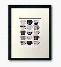 Pretty Coffee Cups 4 Framed Print