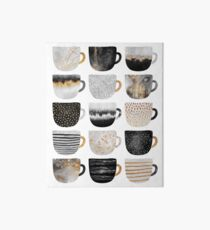Pretty Coffee Cups 4 Art Board