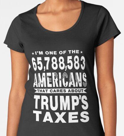 Americans Care Trumps Taxes Women's Premium T-Shirt