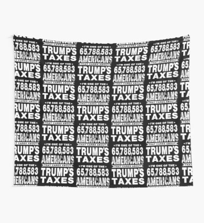 Americans Care Trumps Taxes Wall Tapestry