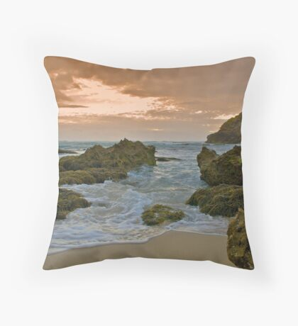 Trying To Avoid Both Scylla And Charybdis... Throw Pillow