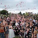 Rose Petal Shower by Keith Smith