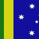 An Australia Day Flag by Albert