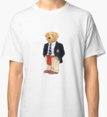Preppy Smart Blazer Polo Bear  Classic T-Shirt
