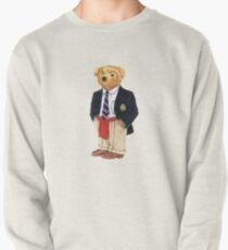 Preppy Smart Blazer Polo Bear  Pullover