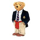 Preppy Smart Blazer Polo Bear  by easyrider3