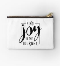 Find Joy in the Journey Studio Pouch