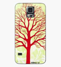 THE OLD RED TREE Case/Skin for Samsung Galaxy