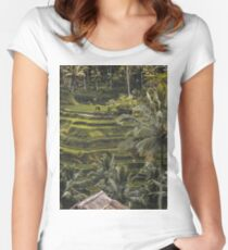 Postcards from Bali Women's Fitted Scoop T-Shirt