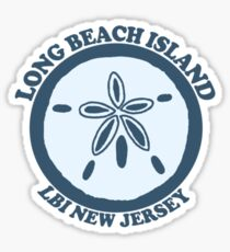 LBI - Long Beach Island NJ. Sticker