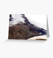 Columbia Icefields Greeting Card