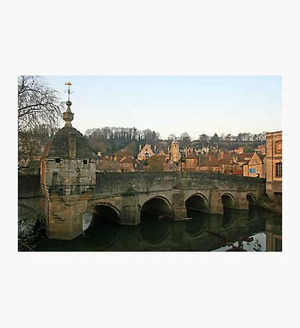 Town Bridge, Bradford Photographic Print