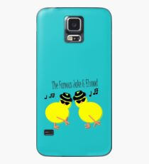 Elwood and Jake tee design Case/Skin for Samsung Galaxy
