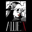 ALLIE X Portrait by aartmoore