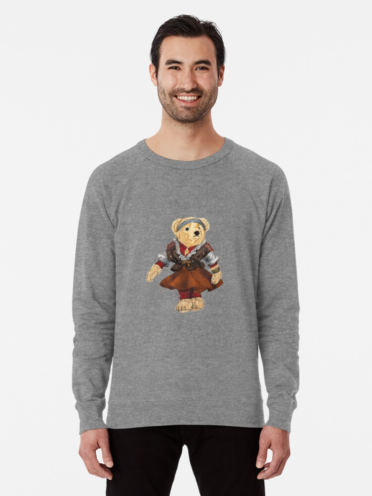 aab8c2a16 Ballet Dancer Polo Bear Lightweight Sweatshirt. Designed by easyrider3