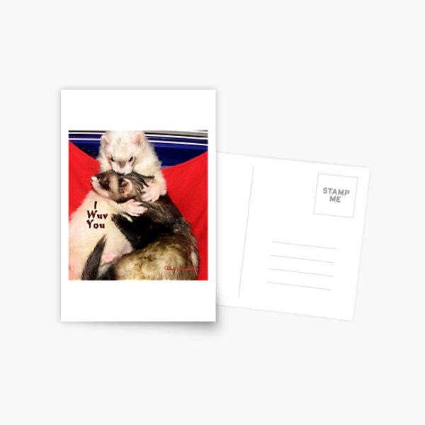 I WUV YOU Postcard