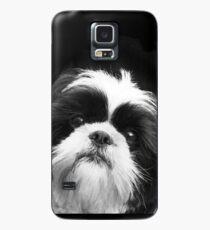 Funda/vinilo para Samsung Galaxy Perro Shih Tzu