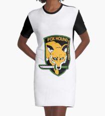 Foxhound Logo Graphic T-Shirt Dress