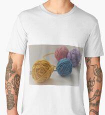 Yarn We Colorful  Men's Premium T-Shirt