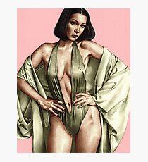 Bella Hadid for Vogue Italy Photographic Print Photographic Print