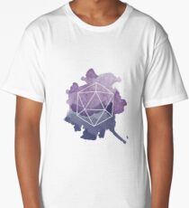 Watercolor hexagon Long T-Shirt