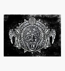 angels dont BLINK aztec Style Photographic Print