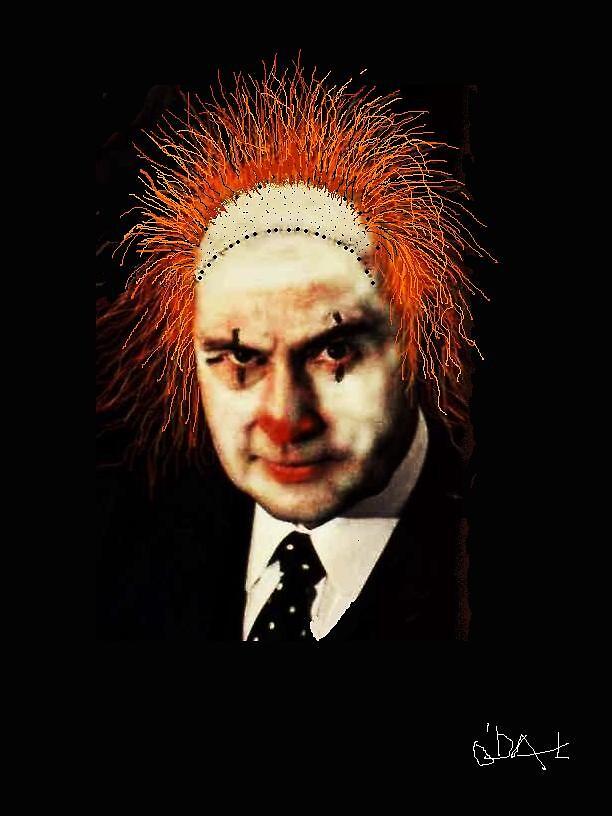 SIZE ME UP Clown as President by John O'Dal