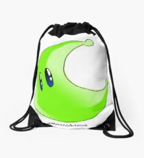 Odyssey Green Power Moon Drawstring Bag