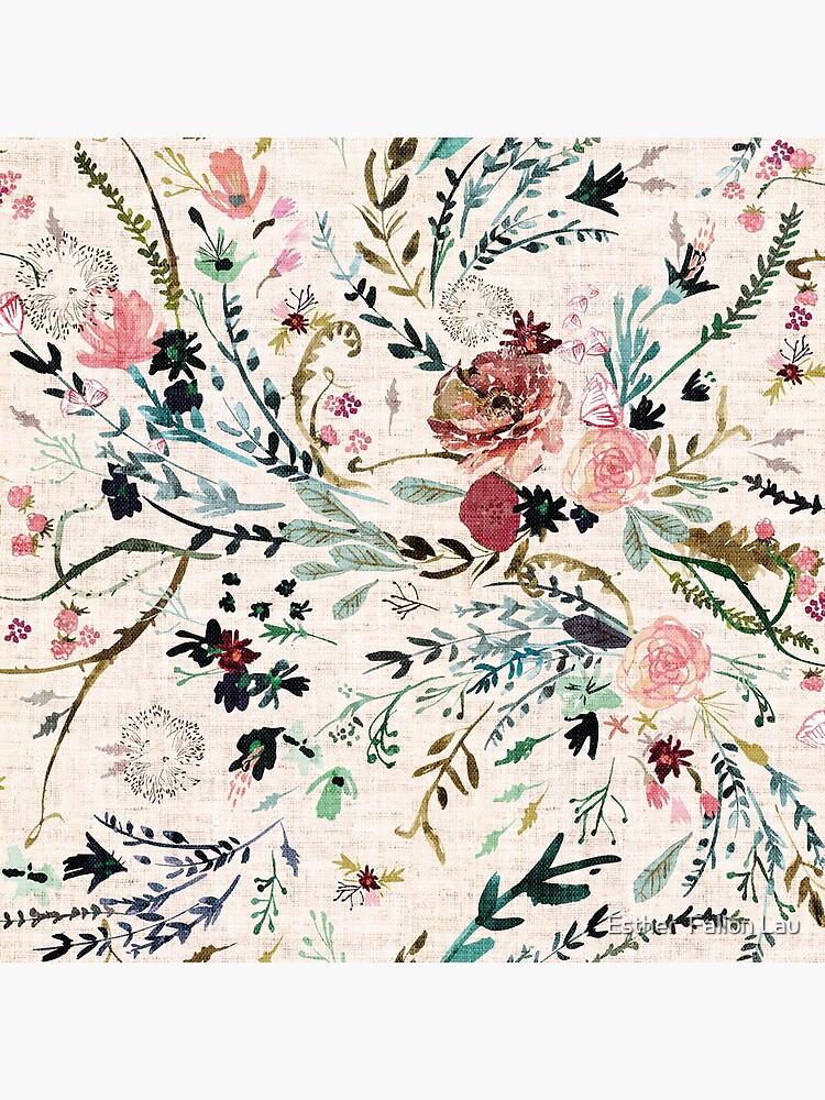 Fabel mit Blumen von nouveaubohemian