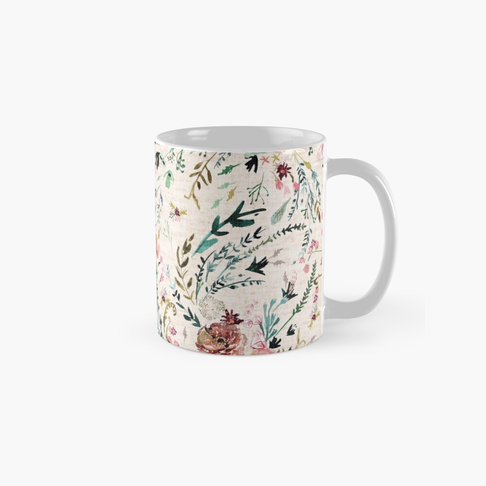 Fabel mit Blumen Tasse