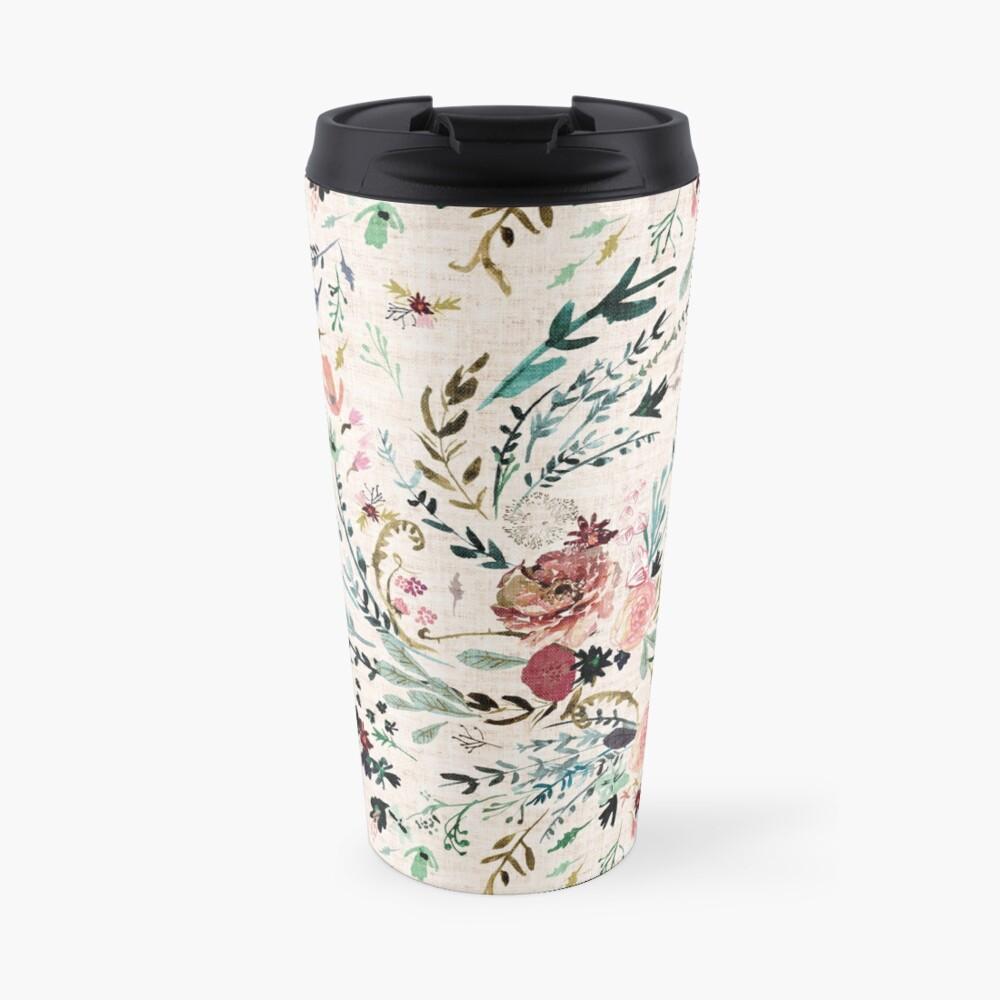 Fable Floral  Travel Mug
